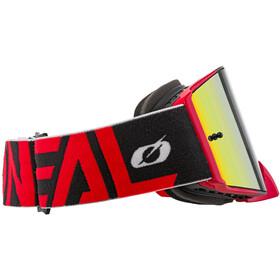 O'Neal B-30 Goggles, bold-black/red-radium red